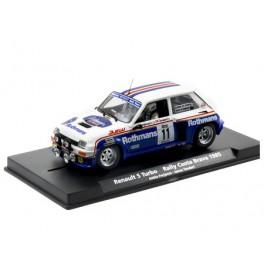 "Renault 5 Turbo "" Rally Costa Brava  1985 "" ( Fly Car Model )"